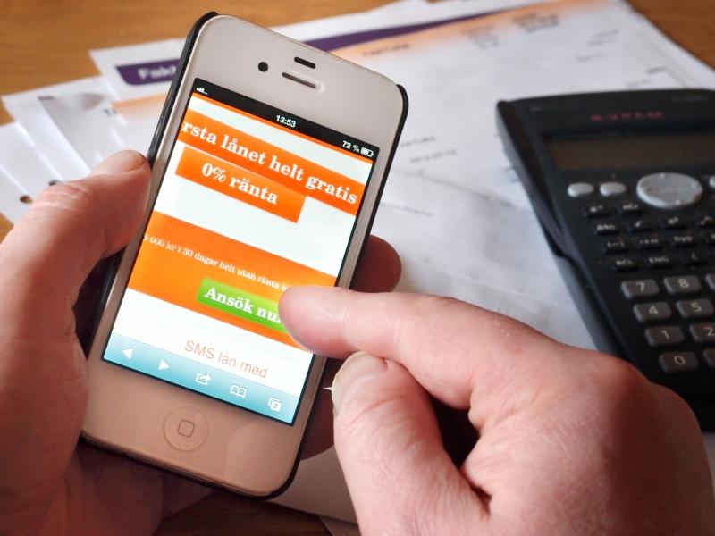 sms lån även om du har skuld